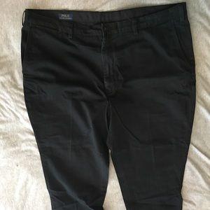 Polo Ralph Lauren black Chinos size 42 slim